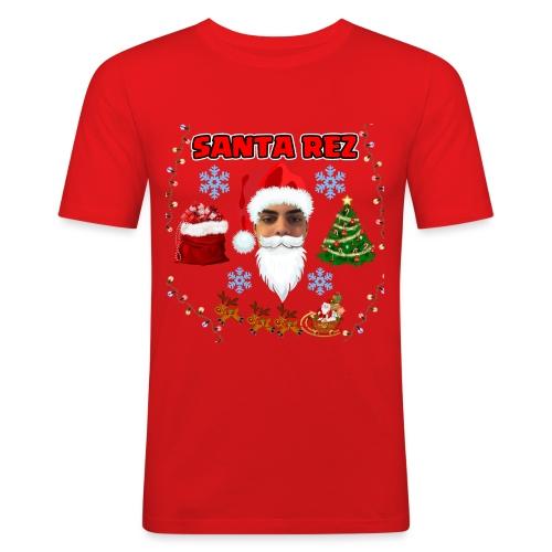 Santa Rez - Miesten tyköistuva t-paita
