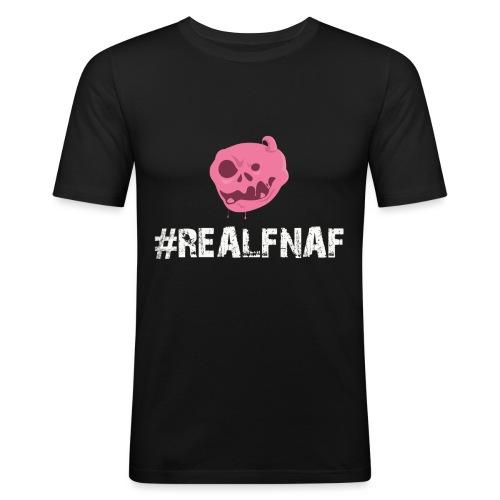 Bubblegummonsters #RealFnaf WHT - Men's Slim Fit T-Shirt