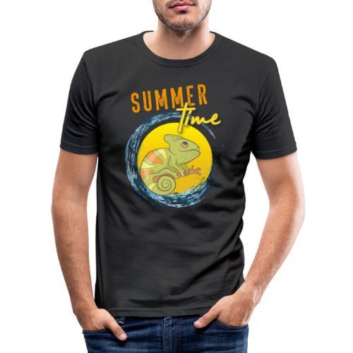 Chamäleon - Männer Slim Fit T-Shirt