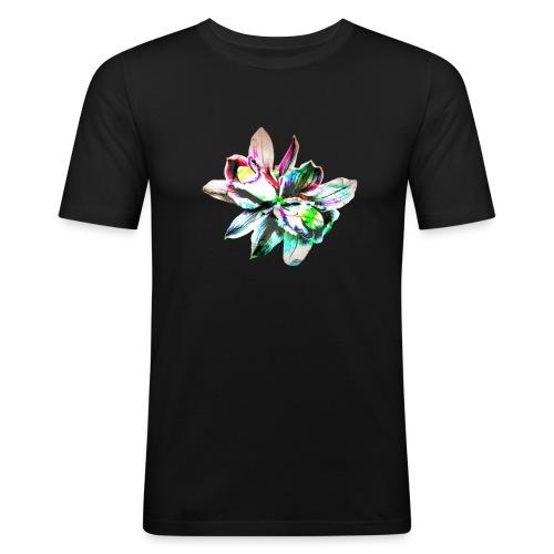 Flowers - T-shirt près du corps Homme