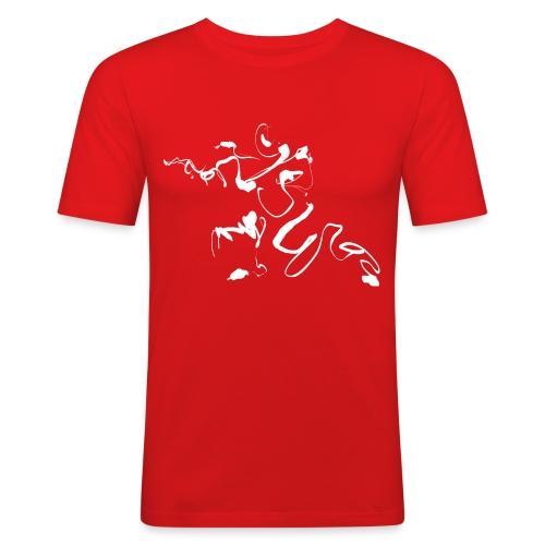 Kungfu - Deepstance Kung-fu figure - Men's Slim Fit T-Shirt