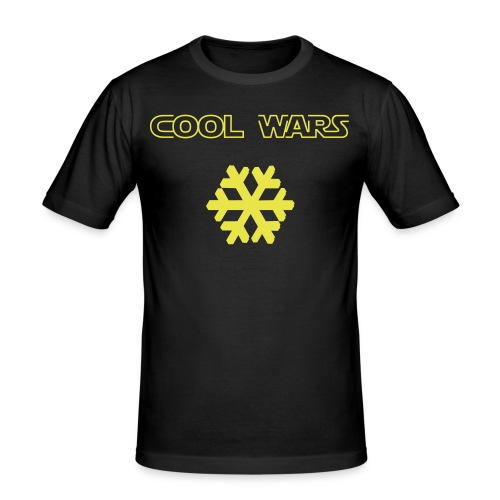 Cool_Wars - Männer Slim Fit T-Shirt