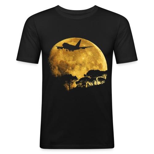 full moon - Men's Slim Fit T-Shirt