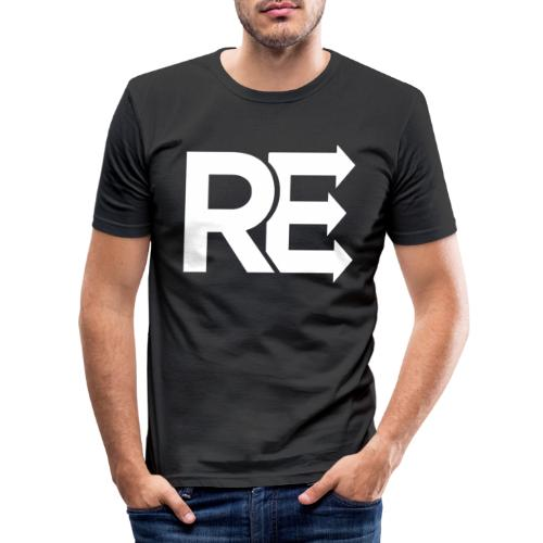 Rejoin Records - Men's Slim Fit T-Shirt