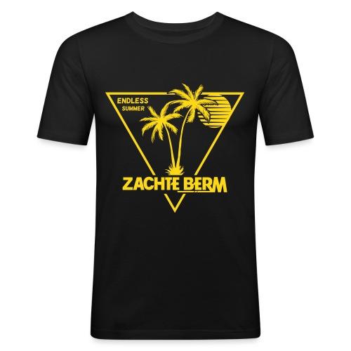 Zachte berm shirt def - Mannen slim fit T-shirt