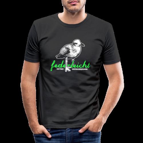 federleicht - Männer Slim Fit T-Shirt
