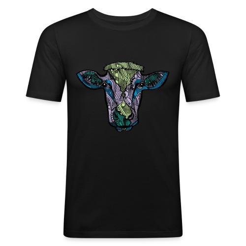 Cow - Slim Fit T-skjorte for menn
