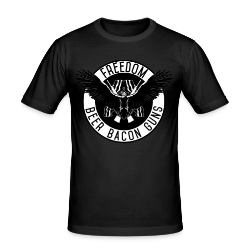 Freedom - Männer Slim Fit T-Shirt