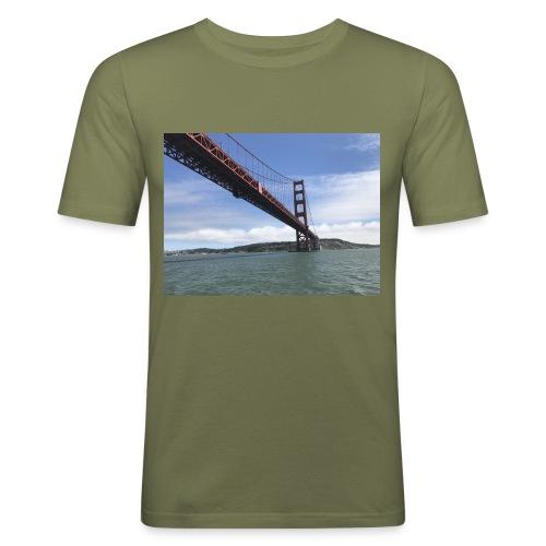 Golden Bro - Herre Slim Fit T-Shirt