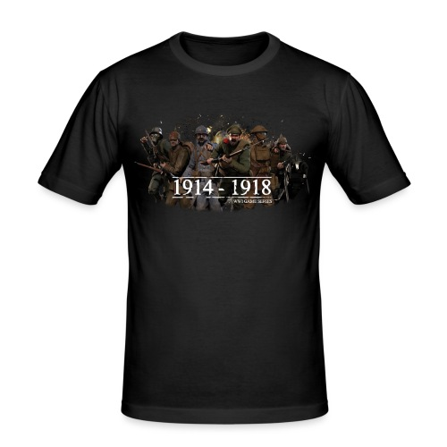 Classic WW1 Game Series - Mannen slim fit T-shirt