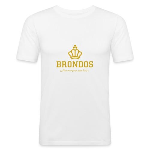 Brondos - Miesten tyköistuva t-paita