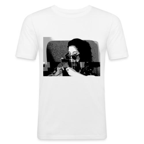 Santa biblia - Camiseta ajustada hombre