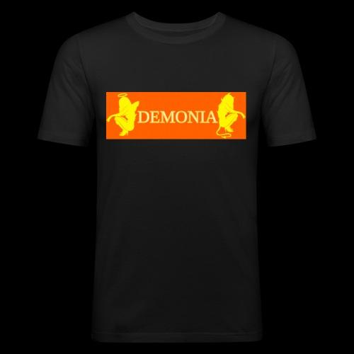 orange Demonia - T-shirt près du corps Homme