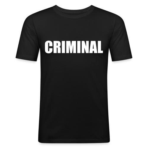 CRIMINAL - T-shirt près du corps Homme