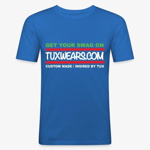 TUXWEARS.COM - Men's Slim Fit T-Shirt