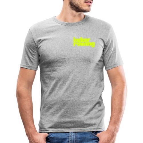 indoor rowing - Men's Slim Fit T-Shirt