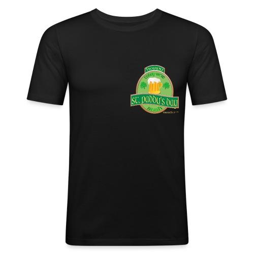 St Paddys Day Erntefest - Männer Slim Fit T-Shirt