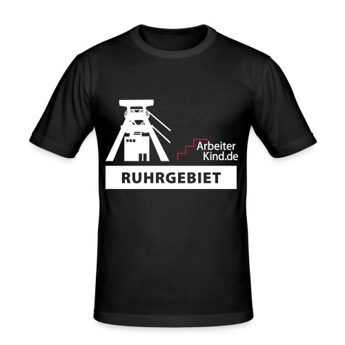 logo 2farbig klein - Männer Slim Fit T-Shirt