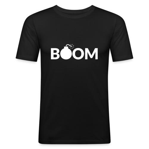 Da Bomb - Boom Clothing - Men's Slim Fit T-Shirt