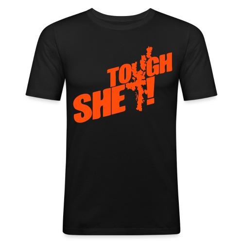 Tough Shet mens - Men's Slim Fit T-Shirt