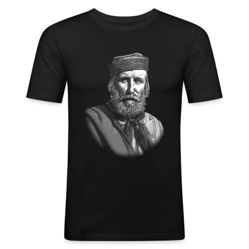 TSHIRT GARIBALDI - Maglietta aderente da uomo