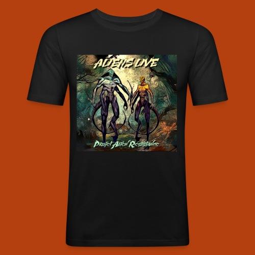 aliens live - T-shirt près du corps Homme