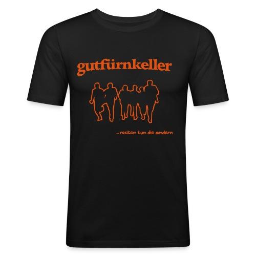 rocken tun die andern - Männer Slim Fit T-Shirt