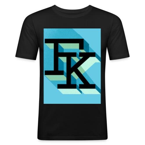 FK - T-shirt près du corps Homme
