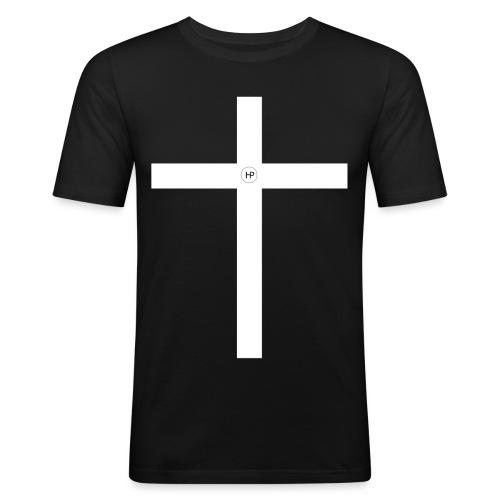 HP Kreuz - Männer Slim Fit T-Shirt