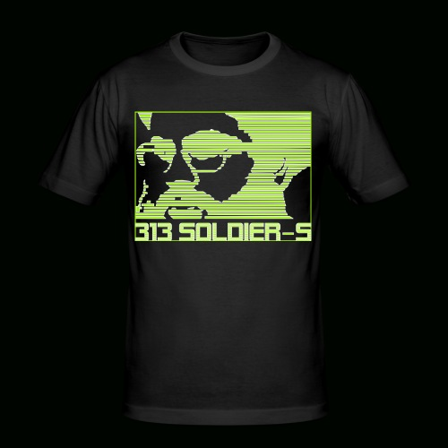 313 SOLDIERS - Männer Slim Fit T-Shirt