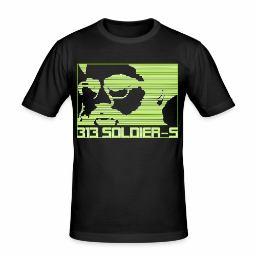 313 SOLDIERS - Männer Slim Fit T-Shirt