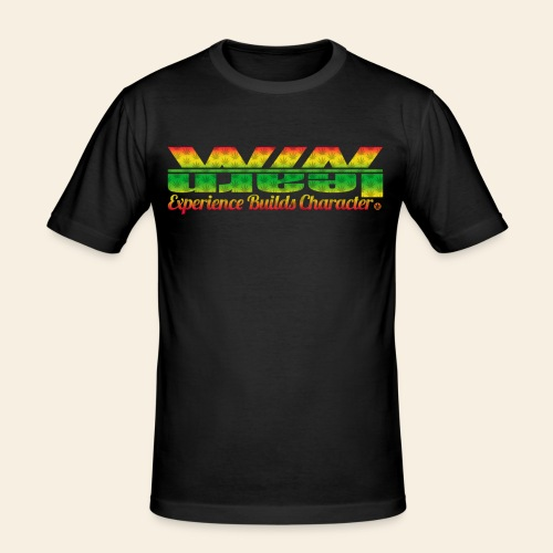 The Weed Logo Tee - Mannen slim fit T-shirt