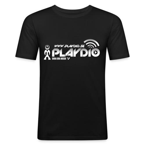 playdiosompng - Slim Fit T-shirt herr