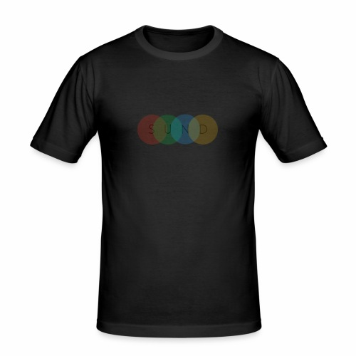 sund color - Mannen slim fit T-shirt