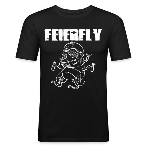 FF_letters_vsmall - Männer Slim Fit T-Shirt