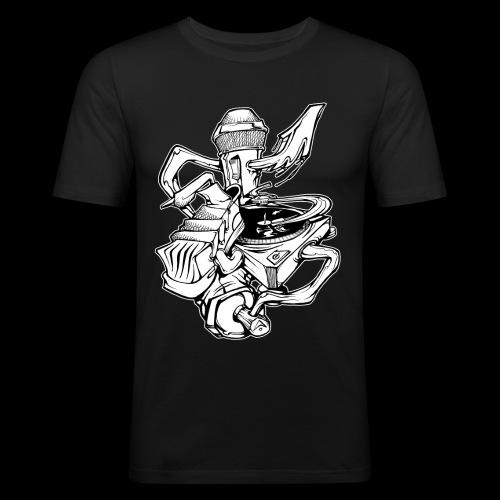 The Real HipHop Elements - Männer Slim Fit T-Shirt