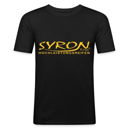 Syron Hochleistungsreifen PX - Männer Slim Fit T-Shirt