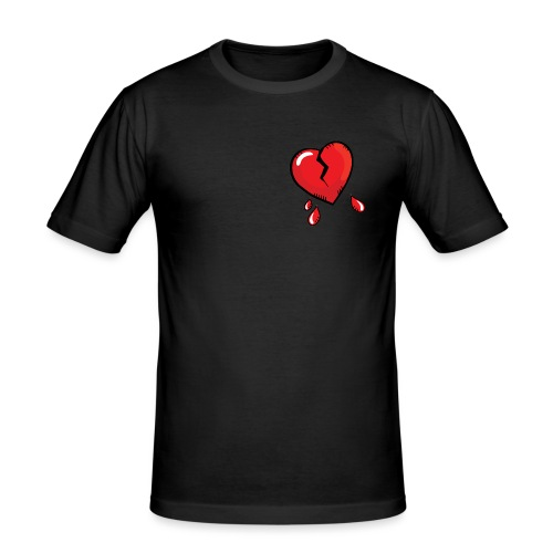 Broken Heart - Men's Slim Fit T-Shirt