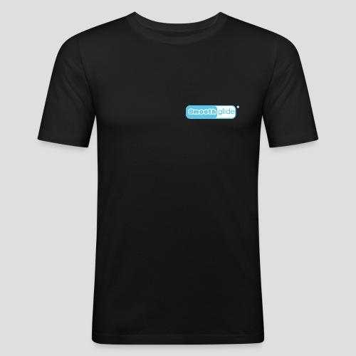 Smoothglide_Logo - Männer Slim Fit T-Shirt