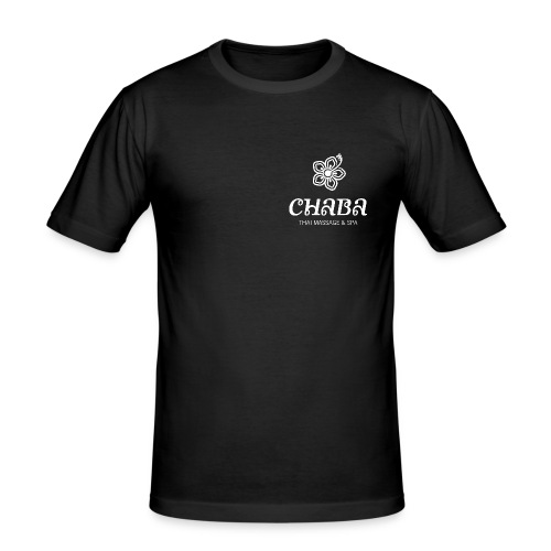 CHABA white - Männer Slim Fit T-Shirt