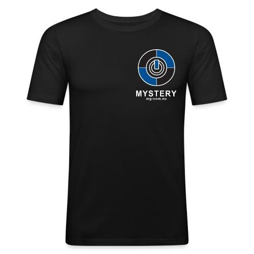 Mystery Logo v3 png - Männer Slim Fit T-Shirt