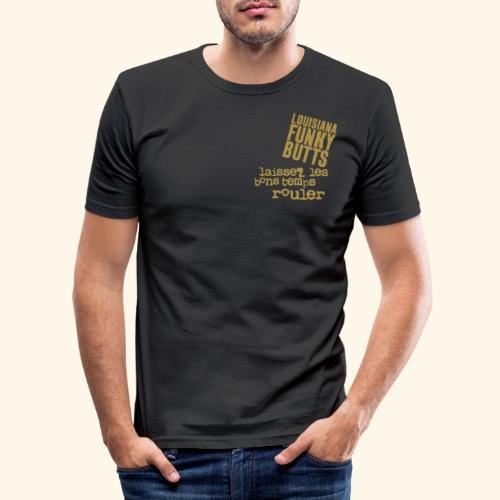 Laissez Les B-T-Rouler_2 - Männer Slim Fit T-Shirt