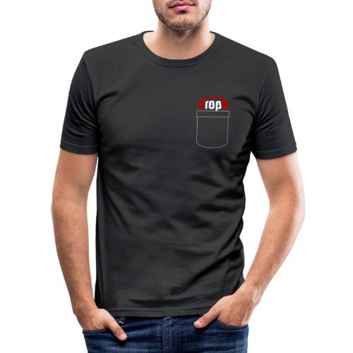 dropblayd Merch - Hemdtasche Design - Männer Slim Fit T-Shirt