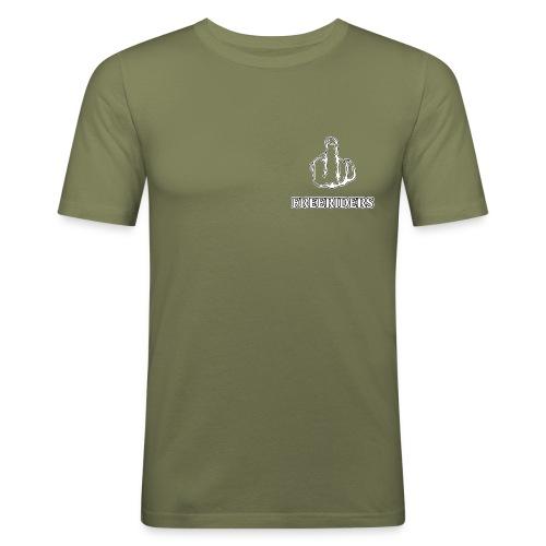 Logo Neu png - Männer Slim Fit T-Shirt