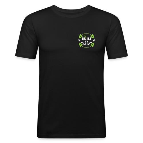 Built By Plants - Männer Slim Fit T-Shirt
