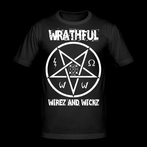 Wrathful Wirez PentaWrath - Men's Slim Fit T-Shirt