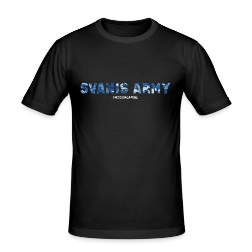 SVANIS ARMY, SWEDISHGAMING - Slim Fit T-shirt herr