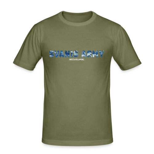 SVANIS ARMY, SWEDISHGAMING - Slim Fit T-shirt herr