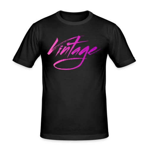Vintageness 05 - Men's Slim Fit T-Shirt