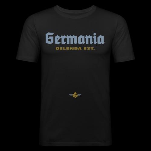 Germania delenda est - Männer Slim Fit T-Shirt